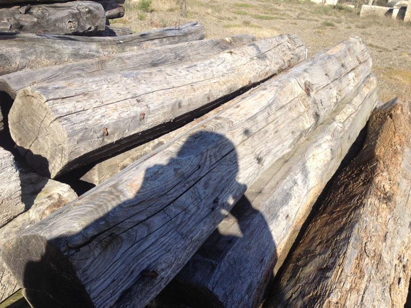 vigas de madera antiguas: